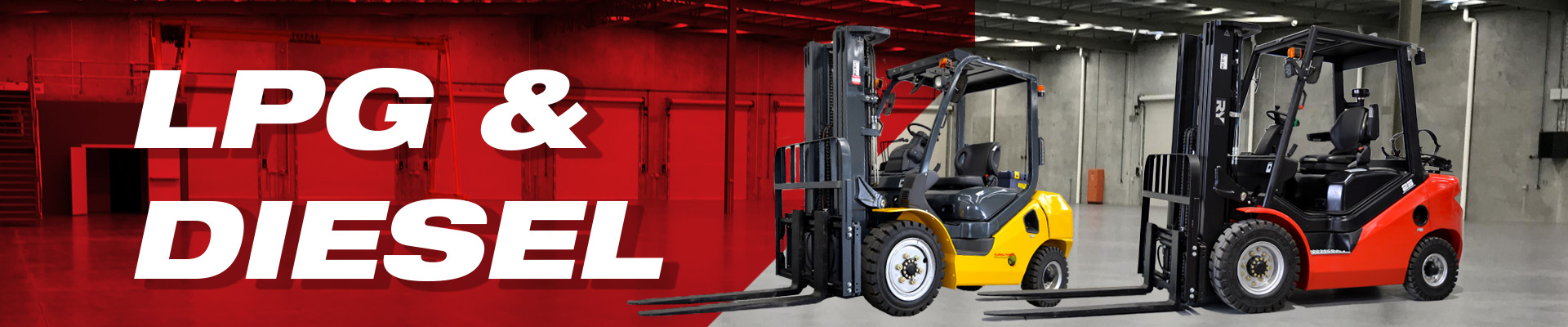lpg and diesel forklifts for hrie and sale